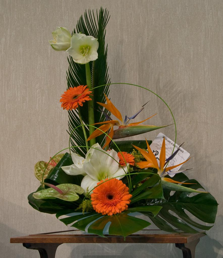 Flower Basket Arrangements Uk : Flower arrangement dennis wright flickr