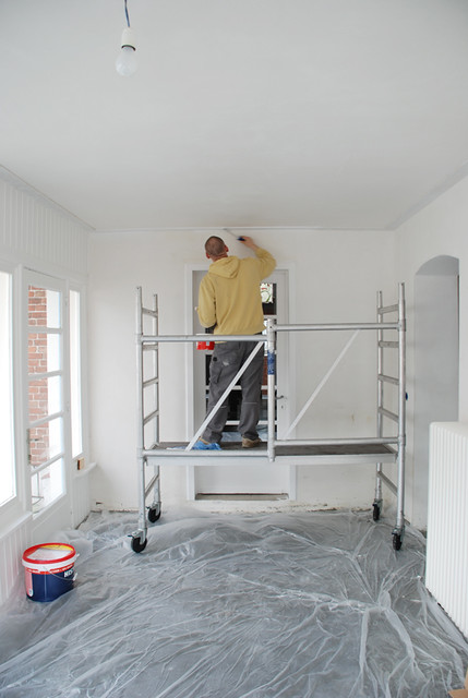 Yellow is Good | Painting the sunroom .. at last! | Yvonne ...