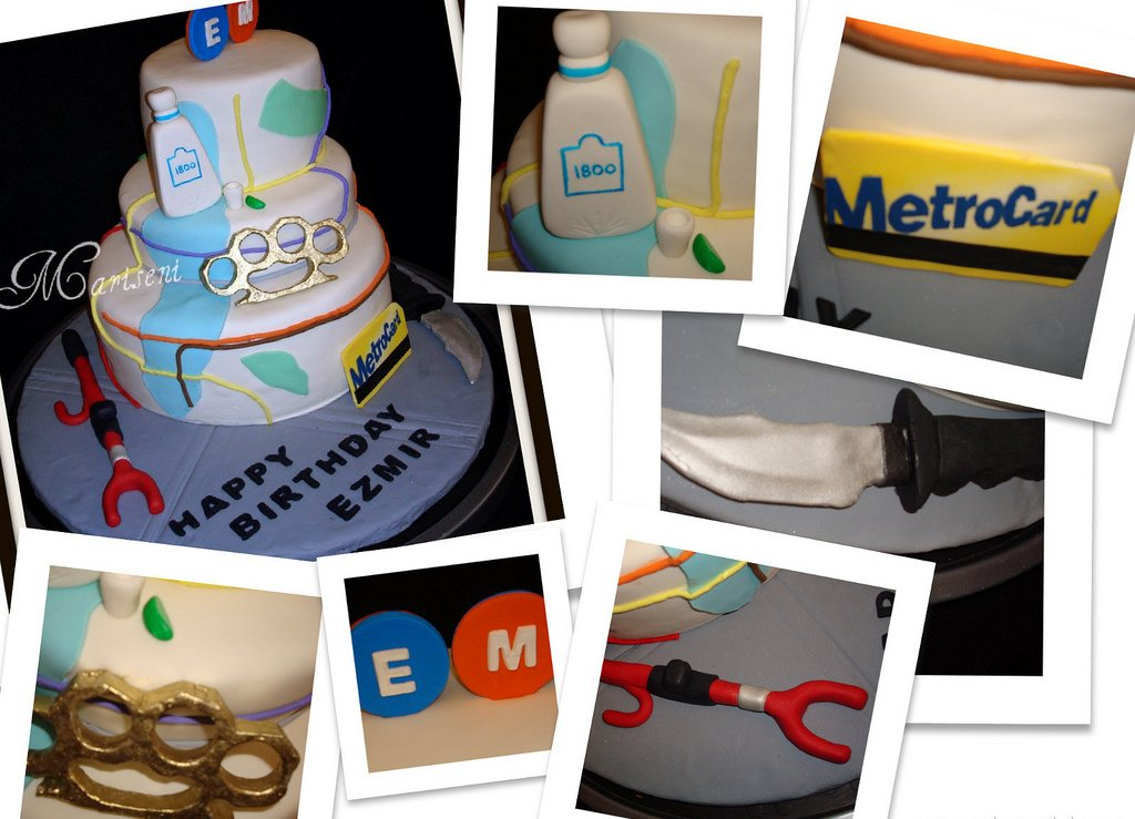 Subway Birthday Cake