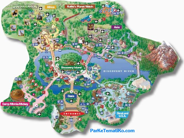 ... Map Animal Kingdom | By Inhobu