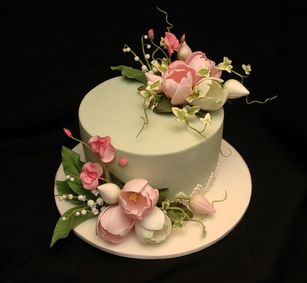 St Birthday Cake Flowers