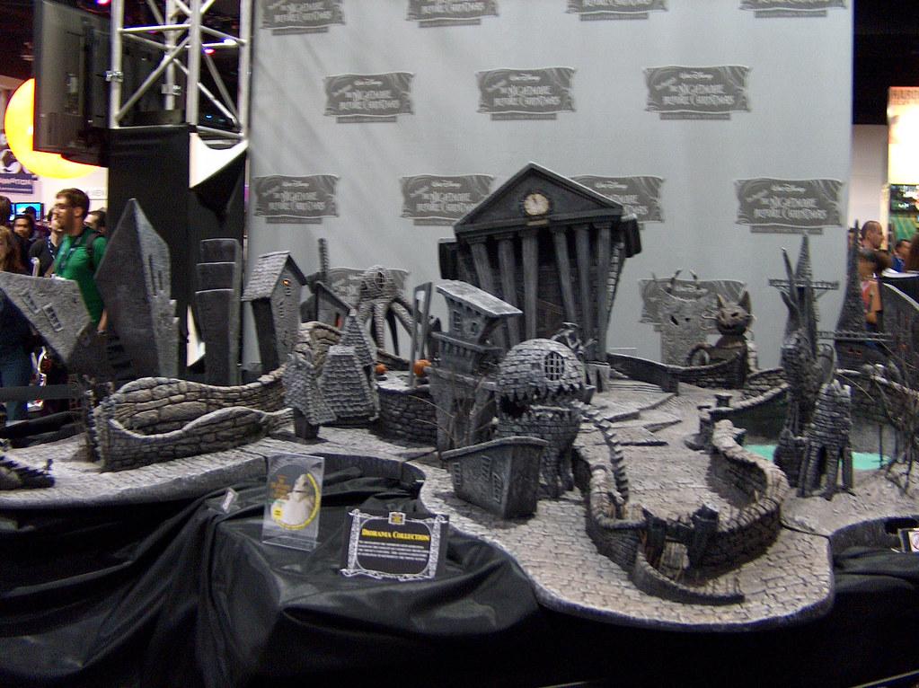 Halloweentown Nightmare Before Christmas Display Over At
