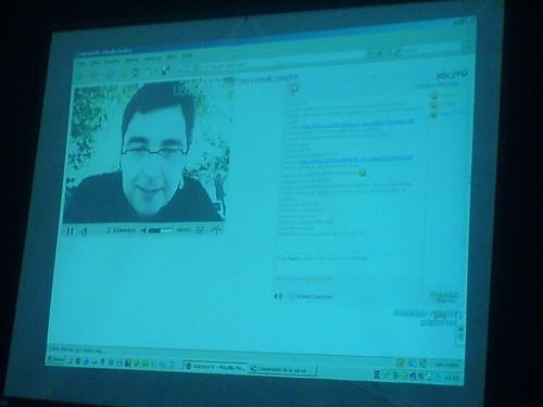 Videoconferència amb Robert Rallo des de IOWA