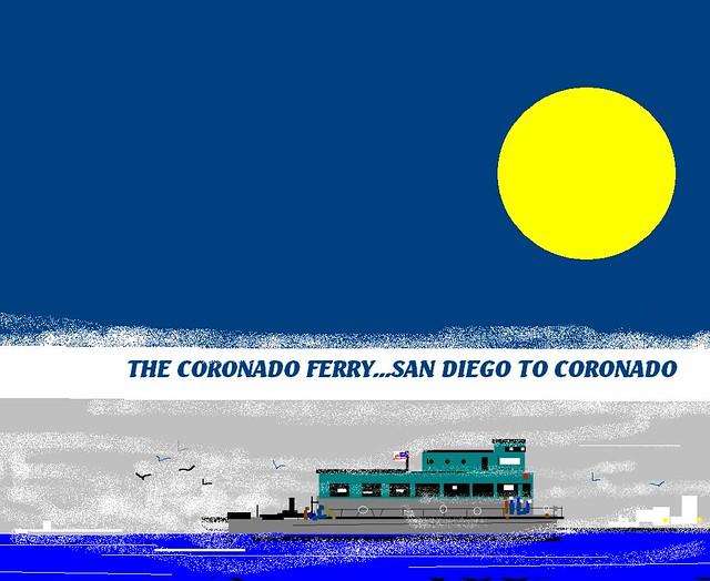 Ferry Coronado Island Allos Pets