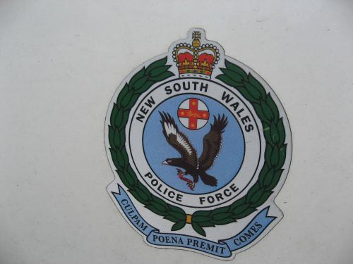 N S W Police Crest Nsw Police Crest This Insignia