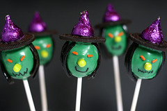 Witch Cake Pops | by Bakerella