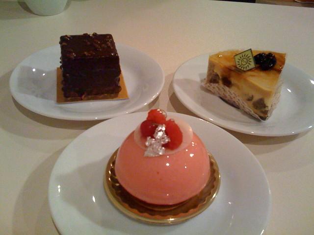 モンサンクレールのケーキ
