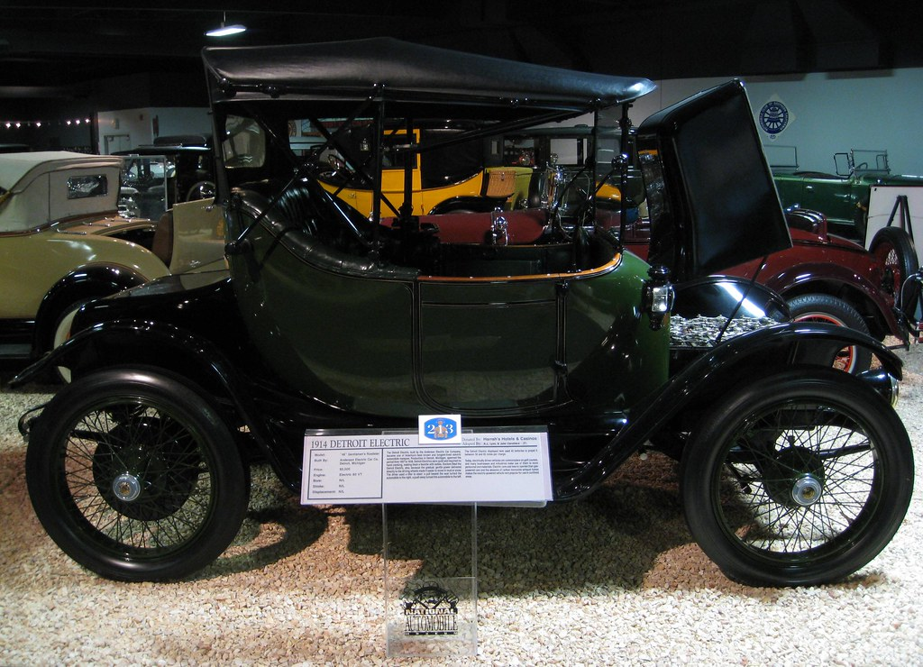 1914 Detroit Electric Car I Think That If I Could Buy
