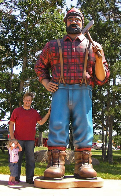 Paul bunyan wedding