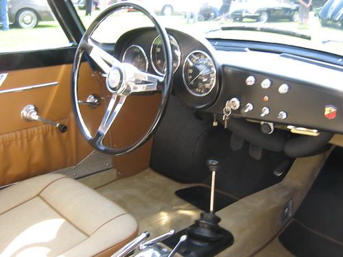 1959 Fiat Abarth 750 Gt Zagato Interior Flickr Photo