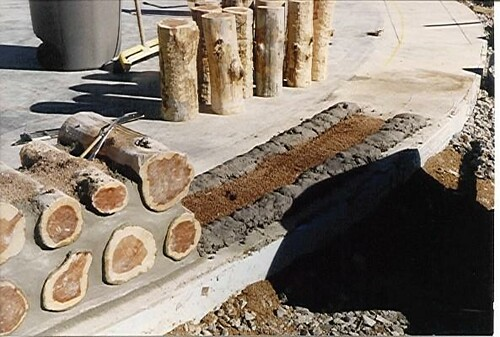 Cordwood Construction Insulation : Cordwood home construction akkodra flickr