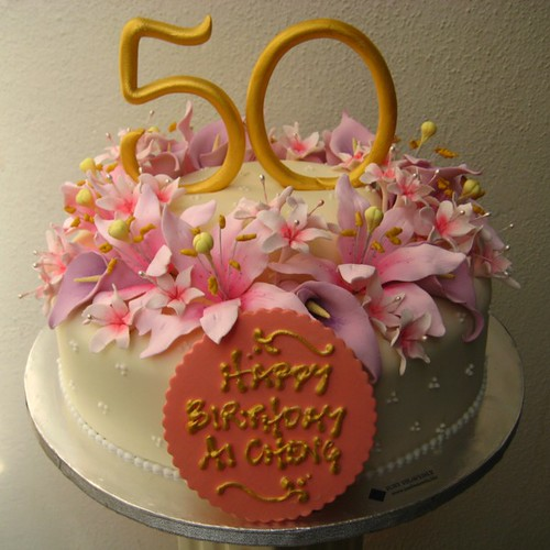 Cake Design 50th Birthday : 50th birthday cake design by allan yap and e.t. yew a ...
