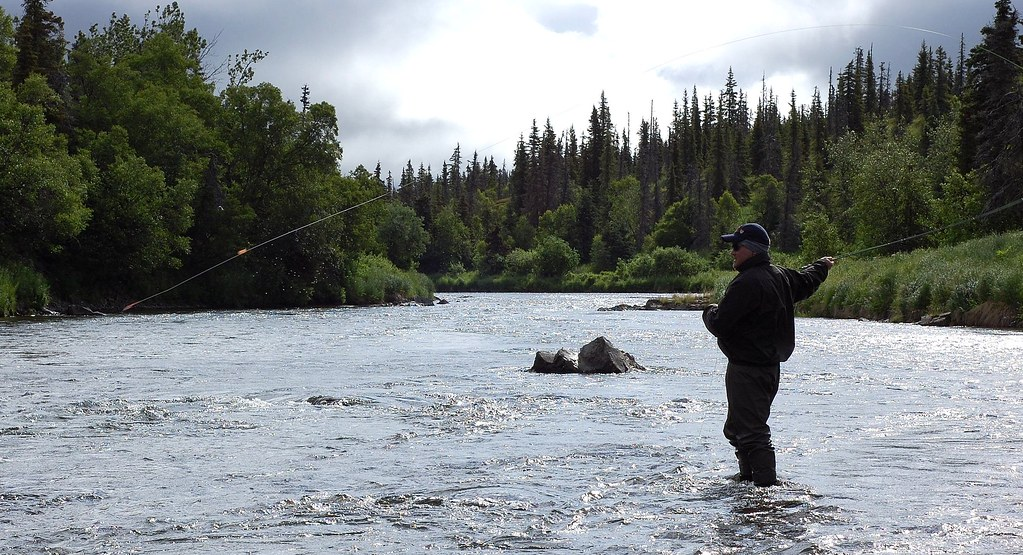 Fly fishing the copper river fishing for rainbow trout for Fishing company of alaska