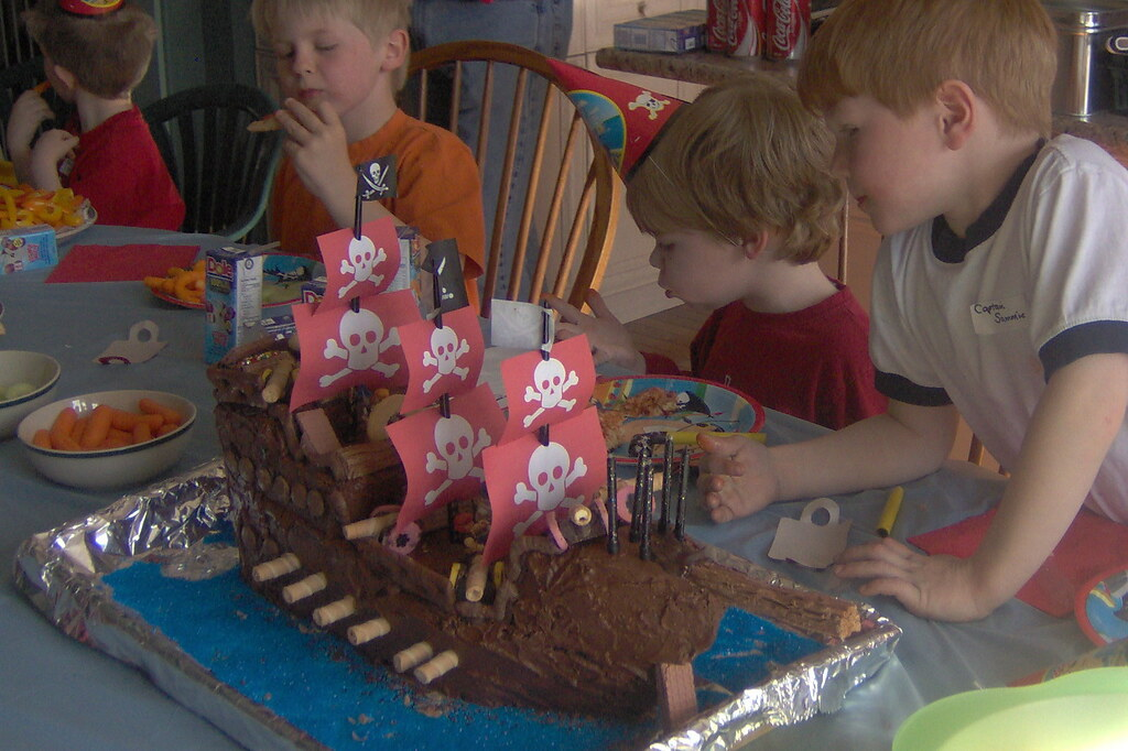 Ship Cake Pictures