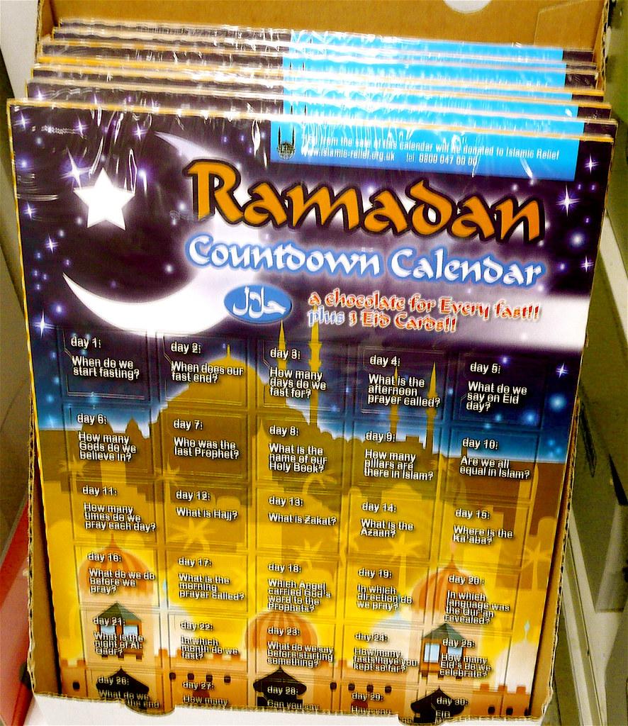 Weekly Calendar Counter : Ramadan countdown calendar scorpions and centaurs flickr