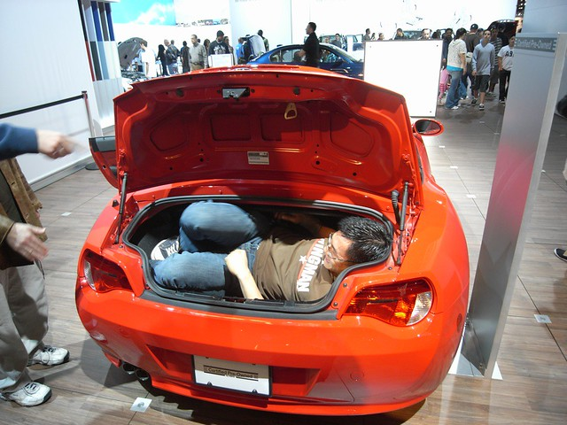 Bmw Z4 Trunk Capacity Tomek Flickr