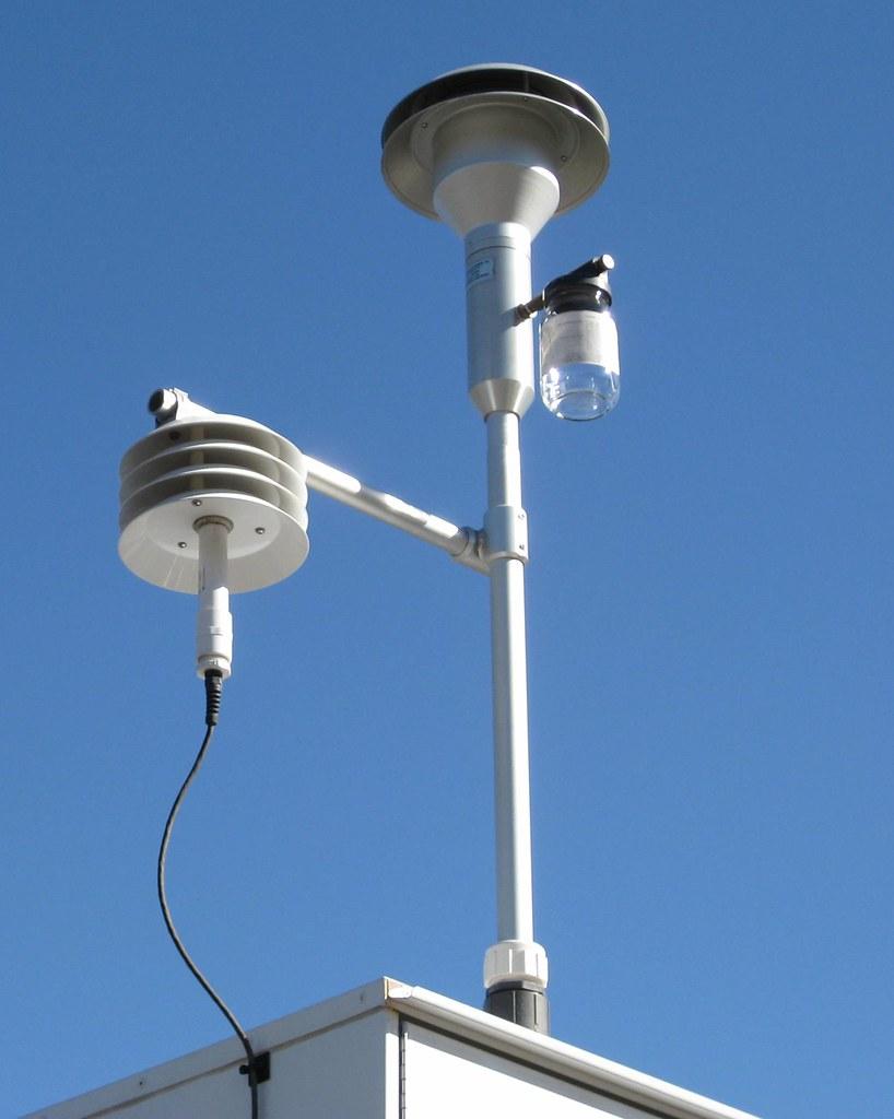 Air Monitoring station, Reno, Nevada   not sure what this ...