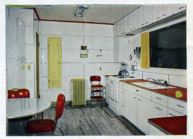 1950s Kitchen Design aladdin 1950's kit house kitchen design | kit home kitchen s… | flickr