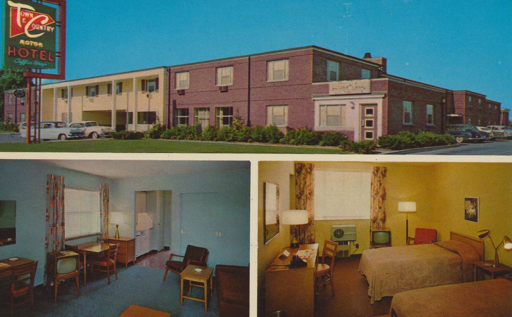 Town country motor hotel cuyahoga falls ohio motor for Falls motor city cuyahoga falls