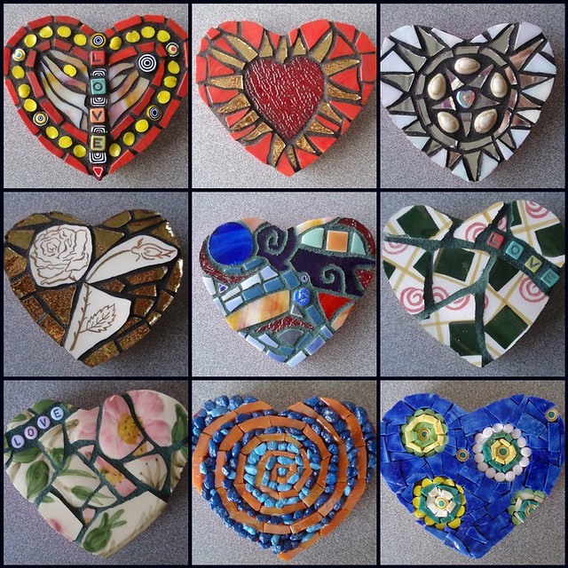 Valentines batch 2 i 39 m really having fun making these for How to draw mosaic patterns