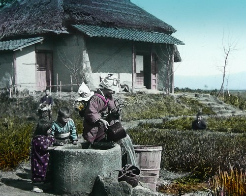 A KIDS LIFE IN JAPAN -- Watching Mother Pour Water from the Well | by Okinawa Soba (Rob)