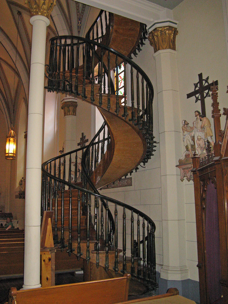 Spiral Staircase: Loretto Chapel: Santa Fe, New Mexico (NMu2026 | Flickr