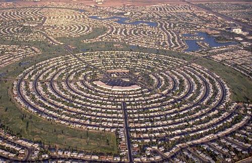 Modern UK Circular City Layout | Court Kizer | Flickr