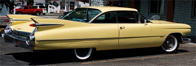 yellow Cadillac | mesabi | Flickr