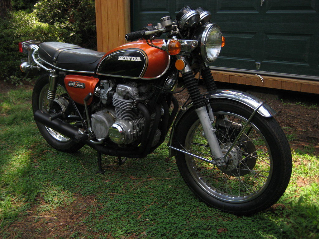 my new 1973 honda cb 550 four 6 paolotavella flickr. Black Bedroom Furniture Sets. Home Design Ideas