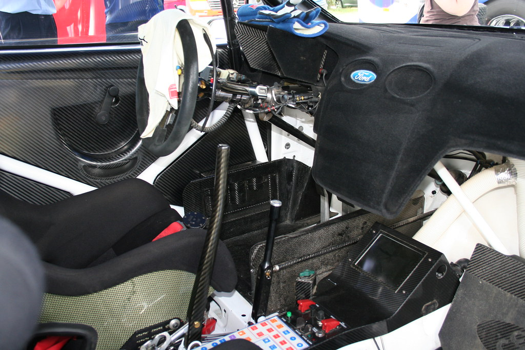 Goodwood 2006 Ford Focus Wrc Inside Pic Interior