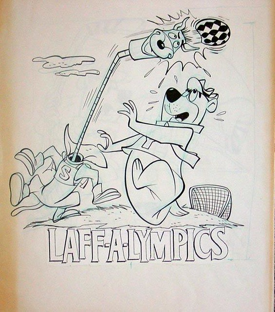 hanna barbera coloring pages - photo#24