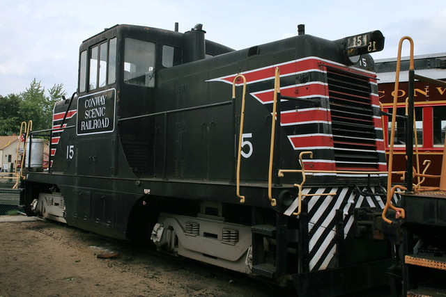 Ge 44 Ton Switcher Csrr 15 Original Maine Central 15