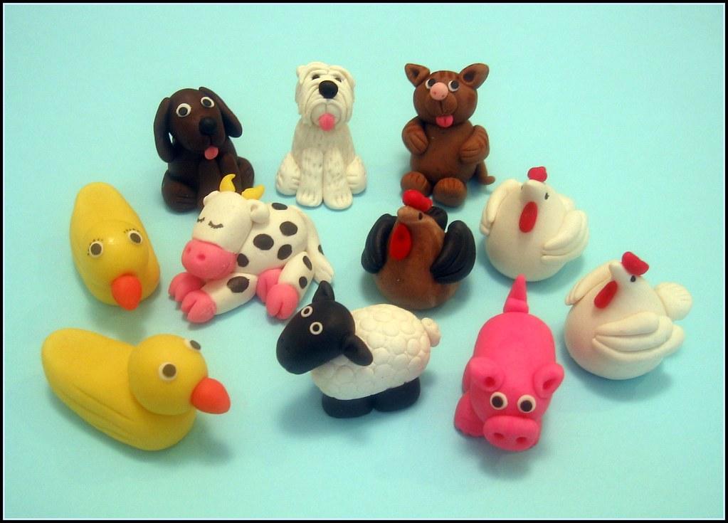 Ronni S Farm Animals Farm Animals Made From Marzipan