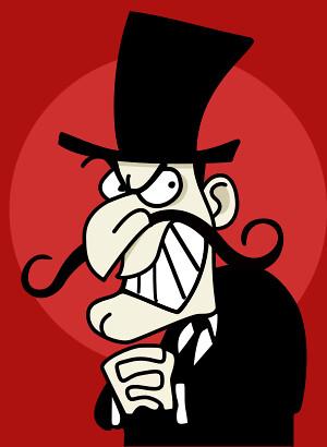 Evil Doer | evil doer villain cartoon character | Frank ...