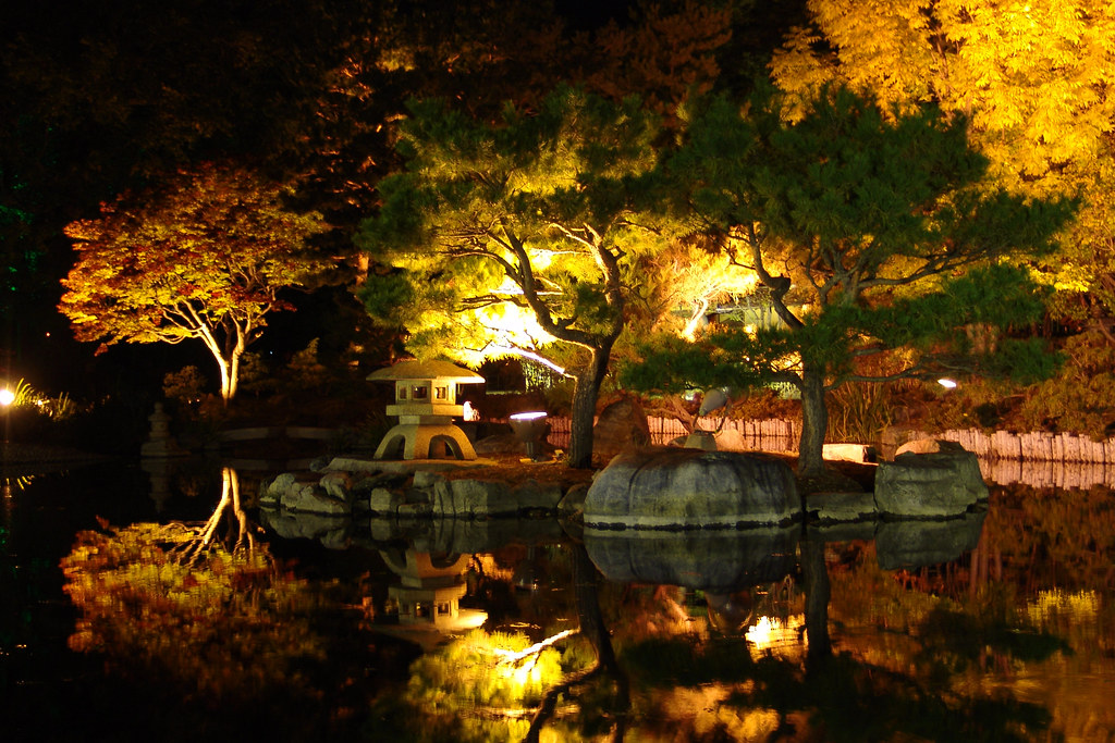 Lighting Up Japanese Garden Some Of These Spots Will