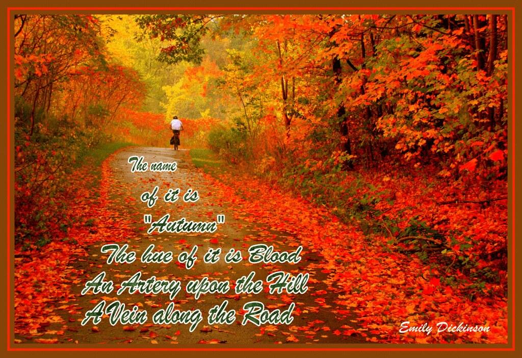 Fall Quotes: Autumn-Poem-Web