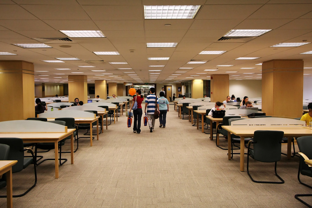NUS Open House 2008: Central Library | nuslibraries | Flickr