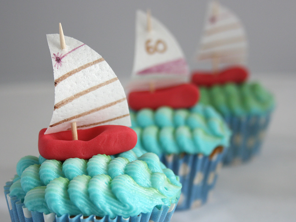 Sailing Cupcakes Lemon Flavour Cupcakes With Lemon