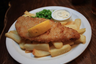 Fish & chips in London | by FitGeekGirl