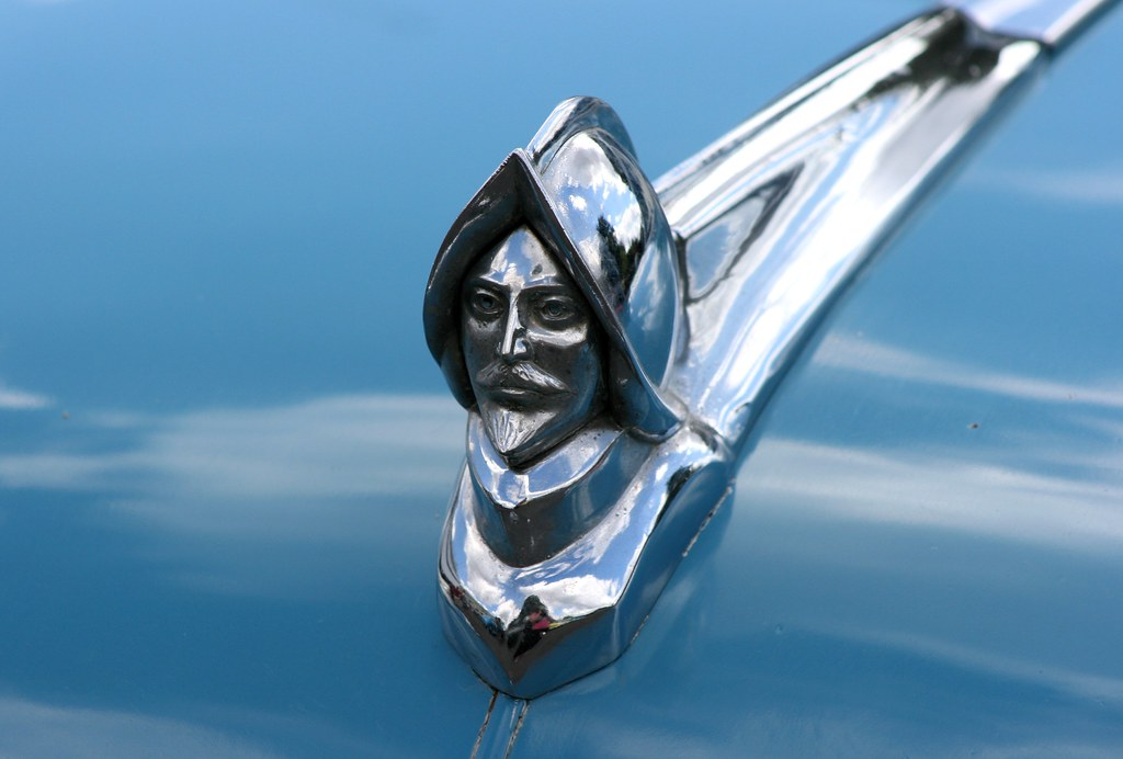 Free Car History Report >> Hood ornament from DeSoto Diplomat | Easter Sunday car ...