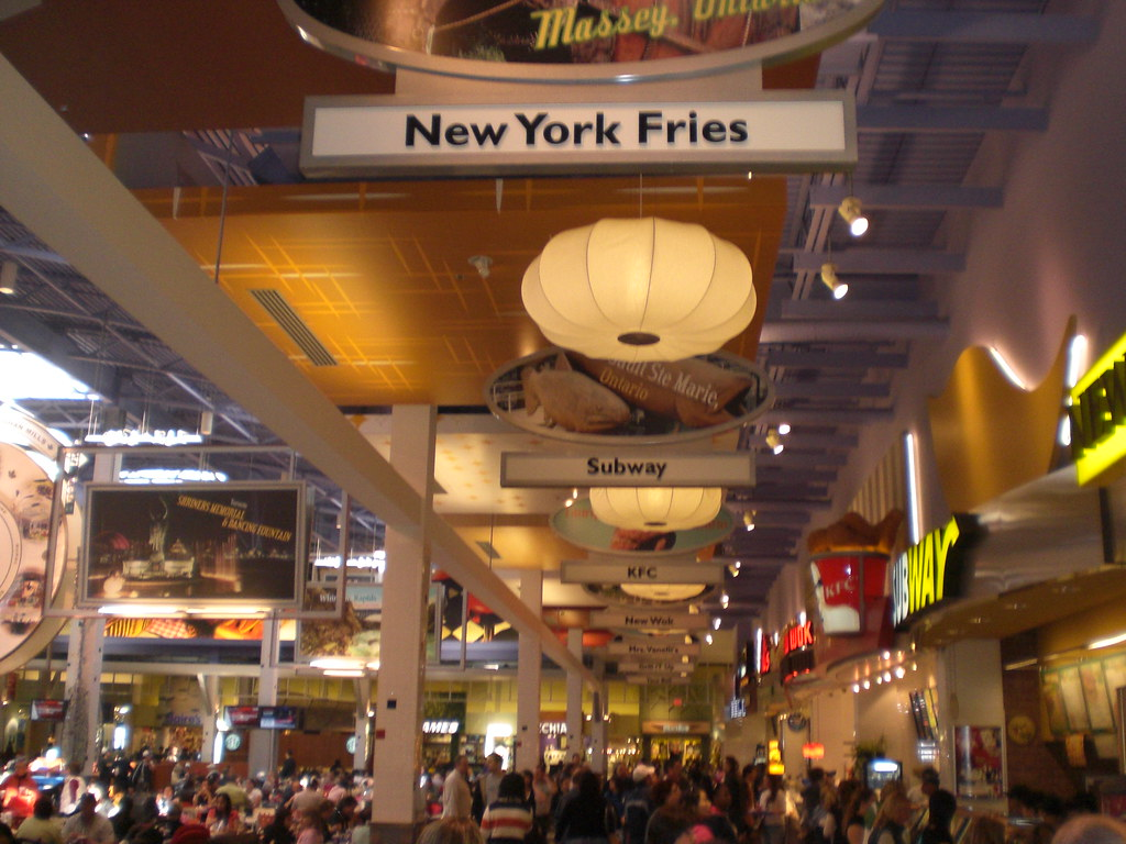 Food Court Vaughan Mills Mall