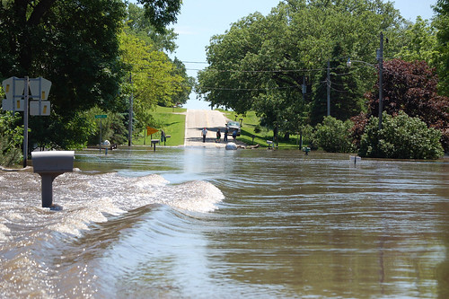 Flooding in Finchfield, IA | by U.S. Geological Survey