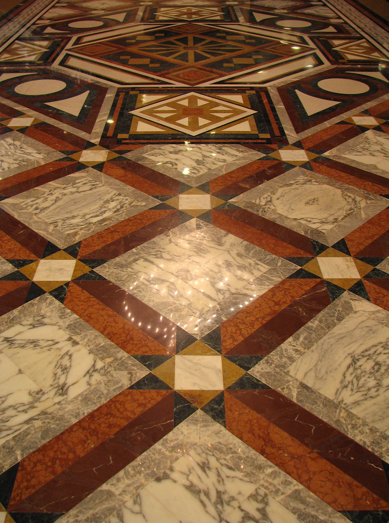 Monte Carlo Le Metropole Shopping Center Marble Floor