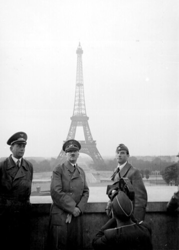 Adolf Hitler in Paris | by Marion Doss