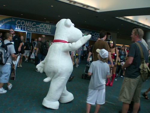 comic-con 2008 Brian Family Guy | by whinry