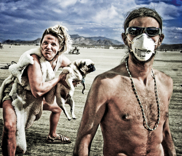 Dog Bite at Burning Man