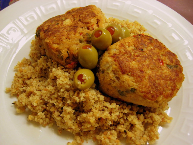 Couscous Cakes Food Network