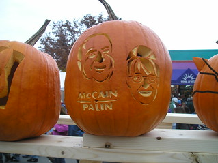 McCain Palin Pumpkin | Keene Pumpkin Festival | by not_on_display
