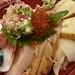 Chirashi-sushi breakfast