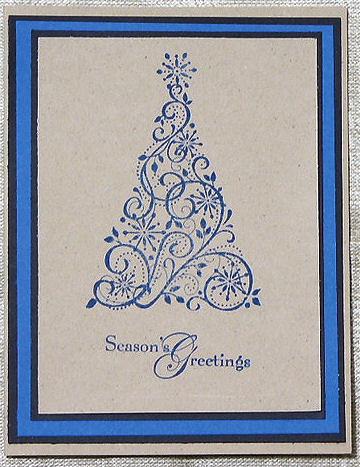 Handstamped Card Designs